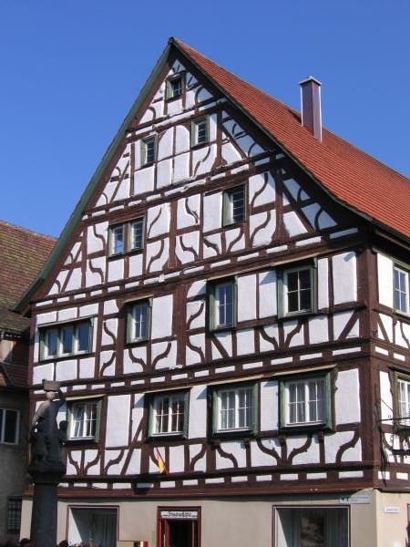 Half-timbered house in Mulheim