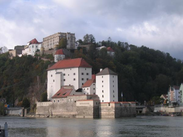 The hostel was at the top of the hill next to the castle
