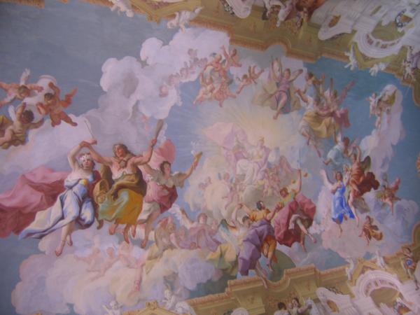 Melk abbey ceiling fresco