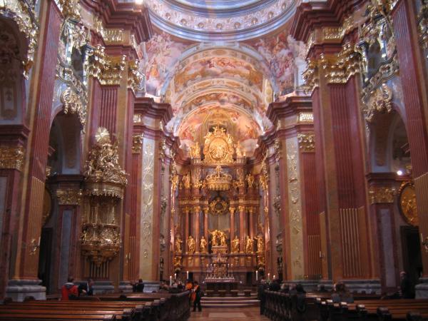 Melk abbey chapel