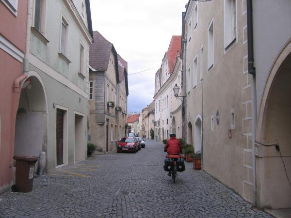 Riding through Wessenkirchen