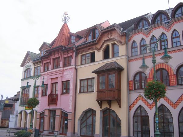 Europa Square in Komarno, Slovakia