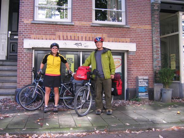 Heading off our bike tour of Europe!