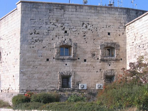 War Damage to Citadel
