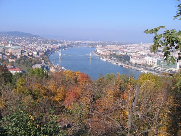 View of Budapest from Gellert Hill