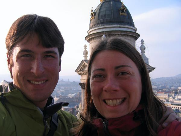 Us on top of the Basilica